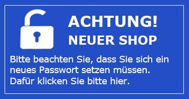 Info Shopumstellung