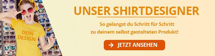 Shirtdesigner Werbung